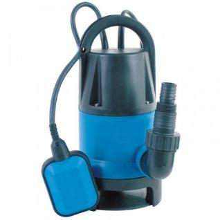 Schmutzwasser - Tauchpumpe 400Watt Pumpe Gartenpumpe Schwimmschalter Abwasser