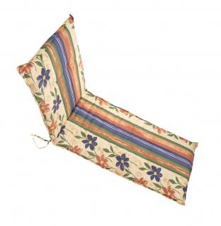 Polsterauflage für Gartenliege Sitzkissen Liegenauflage Sitzpolster Auflage