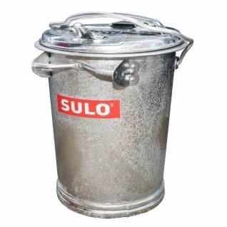 Mülltonne 50l verzinkt oB