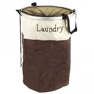 Wäschekorb faltbar Laundry Wäschesack Wäschesammler Wäschetonne Wäschesortierer