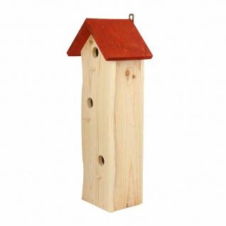 Meisenpalast 3 Einfluglöcher Vogelfutterhaus Vogelhaus Vogelvilla Vögel Terrasse