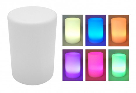 Tischlampe mit Farbwechsler Tischleuchte Nachtlampe Nachtlicht Dekolicht dimmbar