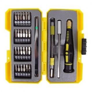 Präzision-Schraubendreher-Bit-Set 28-teilig Schraubenzieher Bitsatz Werkzeugset