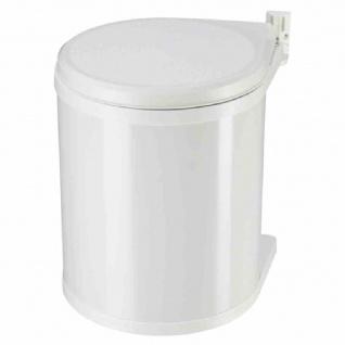 "Einbau-Abfallsammler "" Compact-Box M"" weiß 15 l"