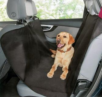 Hunde Autoschondecke schwarz
