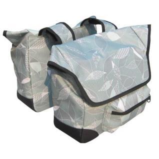 Design Fahrrad-Doppeltasche Tasche Einkauftasche Gepäckträgertasche Packtasche