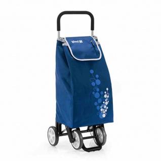 """Einkaufsroller """" Twin"""" Blue Höhe: 92 cm, Tragkraft: 30 kg"""