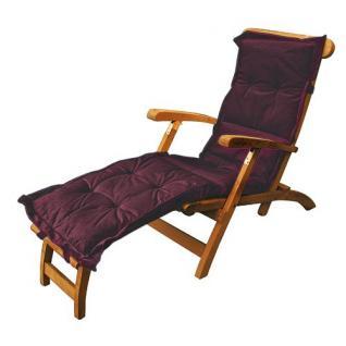 Teak Deckchair Auflage versch.Farben - Vorschau 3
