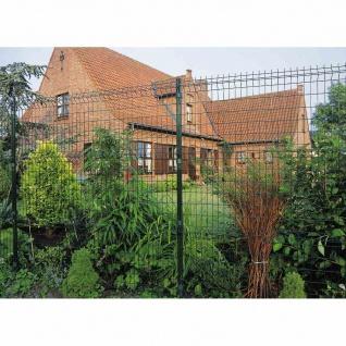Bekafor-Classic 123cm grün Zaunfeld 200cm Gartenzaun Sichtschutz Zaun Terrasse