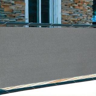 Balkonsichtschutz 5m Windschutz Balkonverkleidung Sichtschutzmatte Sichtschutz - Vorschau 2
