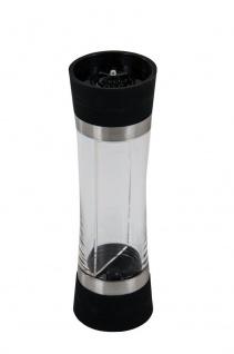2 in 1 Salz-und Pfeffermühle Gewürzmühle Salzmühle Salzstreuer Pfefferstreuer