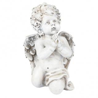 Betender Engel 26cm Engelsfigur Gartendeko Grabschmuck Schutzengel Dekoengel