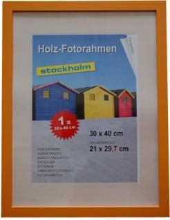 Holz Fotorahmen Bilderrahmen 30x40 cm Holzrahmen Rahmen Galerie Wanddeko - Vorschau 4