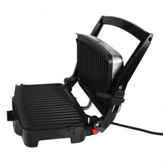 Kontaktgrill Elektrogrill Tischgrill Barbecue Grill Sandwichtoaster Panini Maker - Vorschau 4