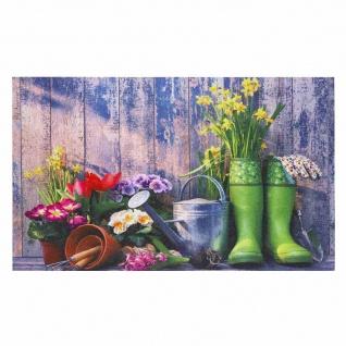 """Fußmatte """" Palisade"""" Garden 45 x 75 cm"""