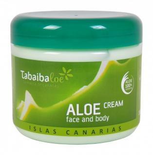 Tabaibaloe 100% Kanarische ALOE VERA face & body cream Gesichtscreme Körpercreme 300 ml - Vorschau 2