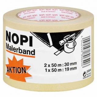 Nopi-Krepp 3er Krepp 2 x 50:30 mm, 1 x 50 m:19 mm