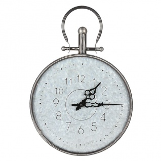 Retro Wanduhr 31, 5cm Taschenuhr Design Küchenuhr Wohnzimmeruhr Baduhr Quartz Uhr
