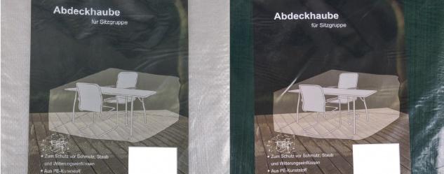 Abdeckhaube für Sitzgruppe Schutzhülle Schutzhaube Sitzgruppenhülle 170x150x95cm