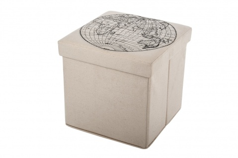 Hocker Falthocker Sitzwürfel Sitzbox Aufbewahrungsbox Sitzhocker Truhe Fußbank