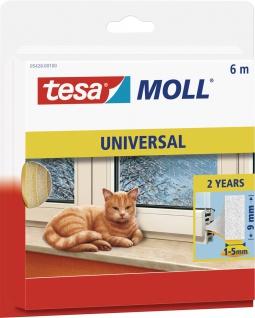 "tesa Schaumstoffdichtung ,, tesamoll® Universal"" 05428-00100 Moll Schaumstoff 6m 5428 Weiss"