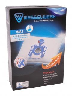 Wessel-Werk WA1 4 Staubsaugerbeutel AEG Electrolux Privileg Progress Volta Swirl