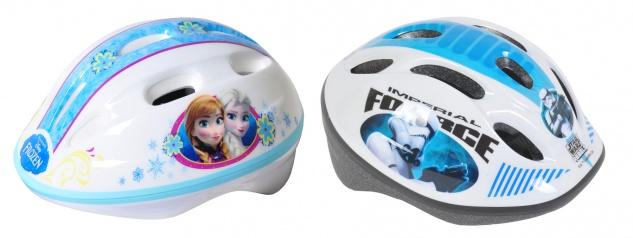 Kinder Fahrradhelm Frozen Star Wars Walt Disney Kopfschutz Bike Rad Skater