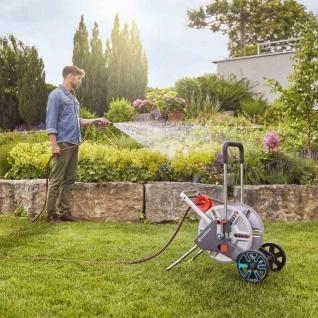 Schlauchwagen AquaRoll Gardena Garten Terrasse Rasen Bewässerung Wasserschlauch