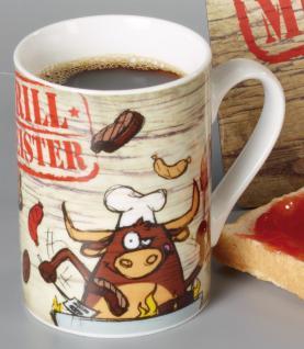 TASSE Kaffeebecher 7, 5cm Grill Meister