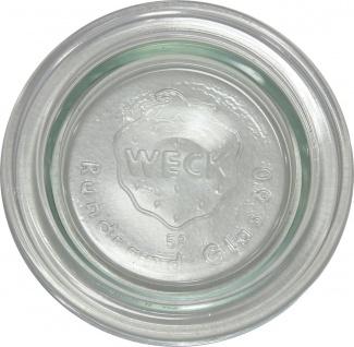 WECK Rundranddeckel RR80 80mm