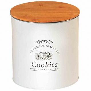 Metalldose Aufbewahrung Dosen Keksdosen Bambusdosen Küchenhelfer Box Büchse Deko