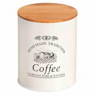 "Metalldose "" Coffee"" Bambus Bambus FSC 100 %"