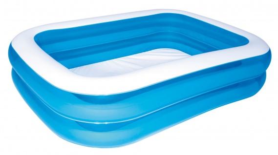 Bestway Family Pool Blue 211x132x46cm Swimmingpool Schwimmbecken Planschbecken
