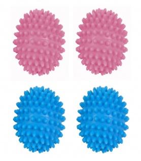 Trocknerbälle 2er-Set Trocknerkugeln Wäschetrockner Wolle Wäsche Weichspüler