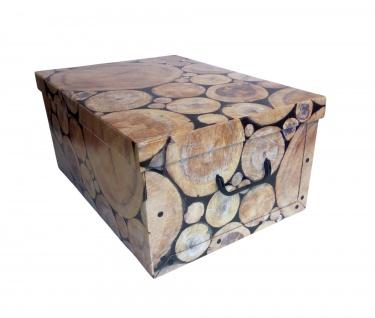 Aufbewahrungsbox aus Pappe Allzweckbox Aufbewahrungskiste Kiste Schachtel Box - Vorschau 3