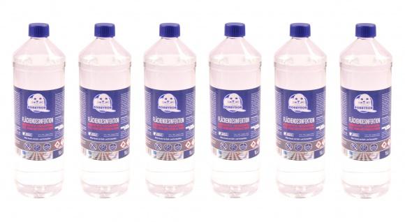 Robbyrob Flächendesinfektion 6x 1 Liter Desinfektionsmittel Desinfektion Hygiene