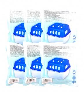 6er Pack Luftentfeuchter Nachfüllbeutel 450g Granulat Raumentfeuchter Nachfüller