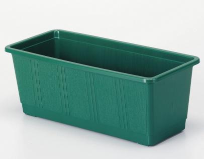 """10 er Geli Goods for green BLUMENKASTEN ,, Standard"""" 80310011 100cm Dunkelgrün"""
