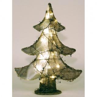 LED Jute-Weihnachtsbaum Tannenbaum Weihnachtsdeko Dekobaum Christbaum Advent - Vorschau 2