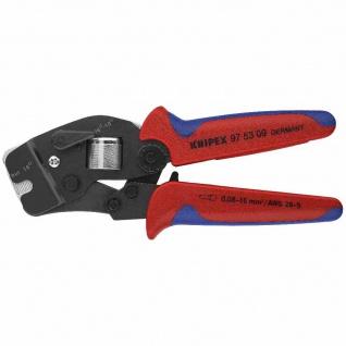 Kerbzange mechanisch Aderendhülsen 0, 08-16mm² Kerbung Zange Werkzeuge Werkstatt