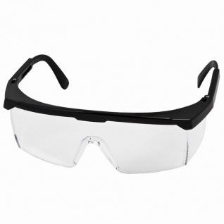 Schutzbrille Klar, sw. EN 166
