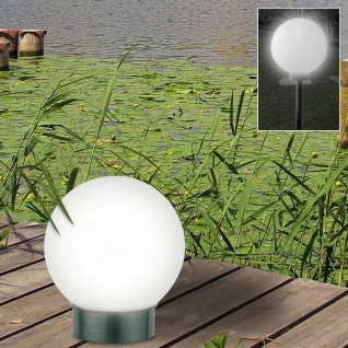 2er-Set LED-Solar-Kugelleuchte Kugellampe Leuchtkugel Solarlampe Lichtkugel - Vorschau 2