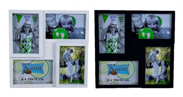 Fotorahmen 30 x 30 cm für 4 Bilder