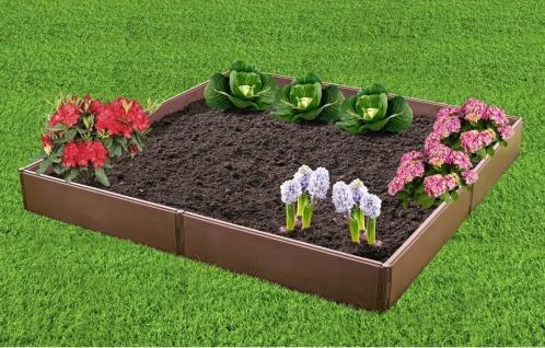 Hochbeet VARIO Frühbeet Rahmen Pflanzbeet Gartenbeet Beeteinfassung erweiterbar