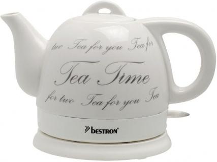 """bestron Wasserkocher ,, Keramik"""" DTP800 Keramik-wasserkocher"""