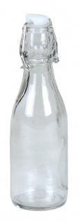 Drahtbügelflasche 0, 25 Liter Glasflasche Bügelflaschen Bügelverschluss