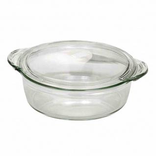 Schüssel + Deckel rund 0, 7l Küche Haushalt kochen Geschirr Kochschüssel TOP NEU