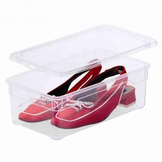 "Aufbewahrungsbox "" Clear Box"" 5 l mit Deckel, 33 x 19 x 11 cm"