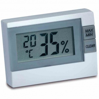 Elektronisches Thermo-Hygrometer inklusive Batterien