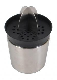 Edelstahl Saftpresse 0, 6 Liter Trinkbecher Entsafter Zitruspresse Fruchtpresse